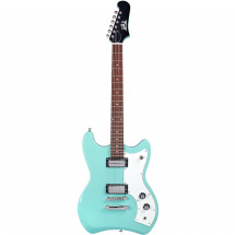 Guild Newark St. Collection Jetstar Seafoam Green, with gig bag