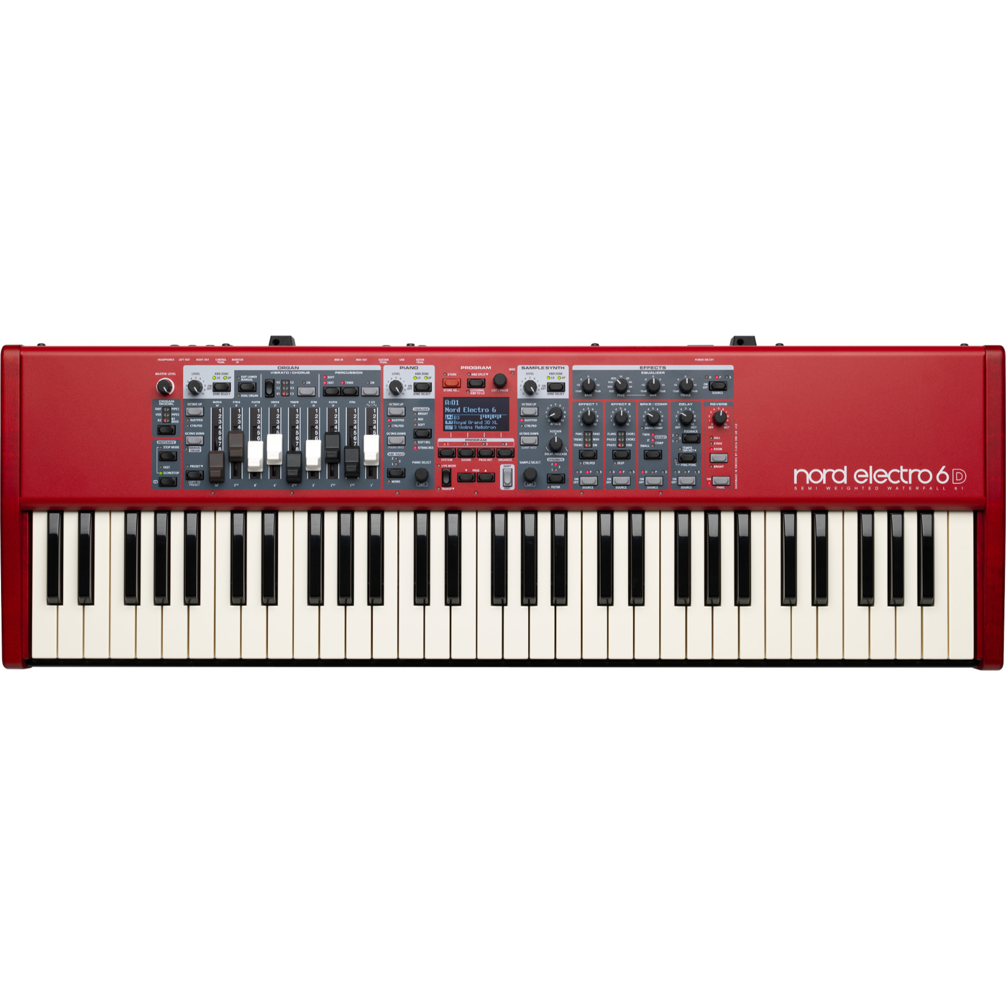 Clavia Nord Electro 6D 61 stage keyboard
