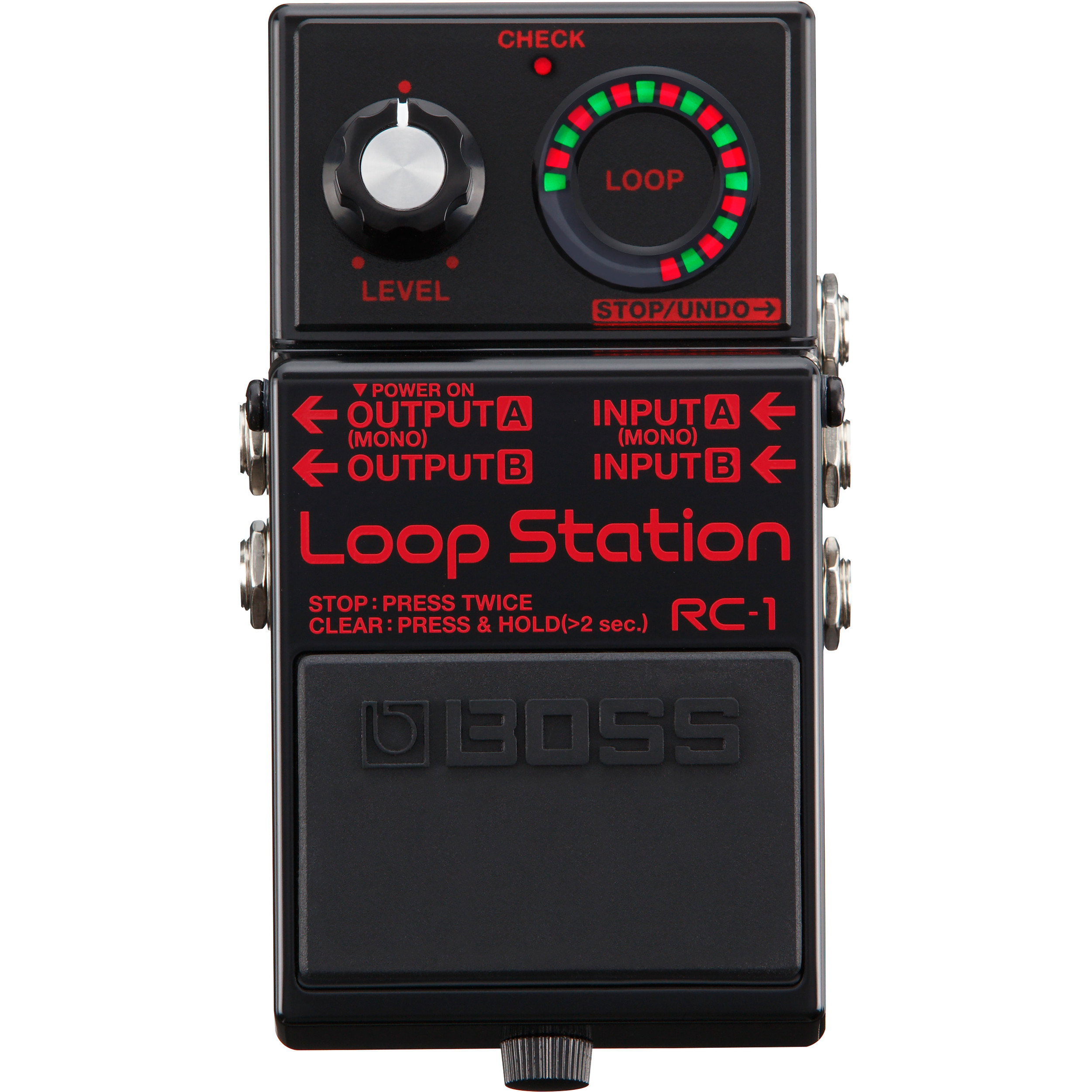 Boss RC 1 BK Loop Station Limited Edition Looper effects pedal