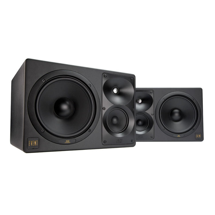 Event 2030 aktiver 3-Weg Studio-Monitor (2-er Set) kaufen? | Bax-shop