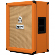 Orange PPC212V 2x12 vertical speaker cabinet, orange