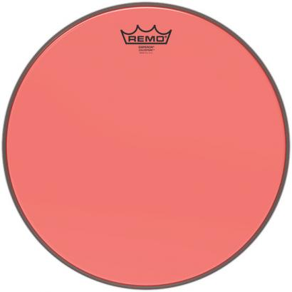 Remo BE-0314-CT-RD Emperor Colortone Red 14-inch