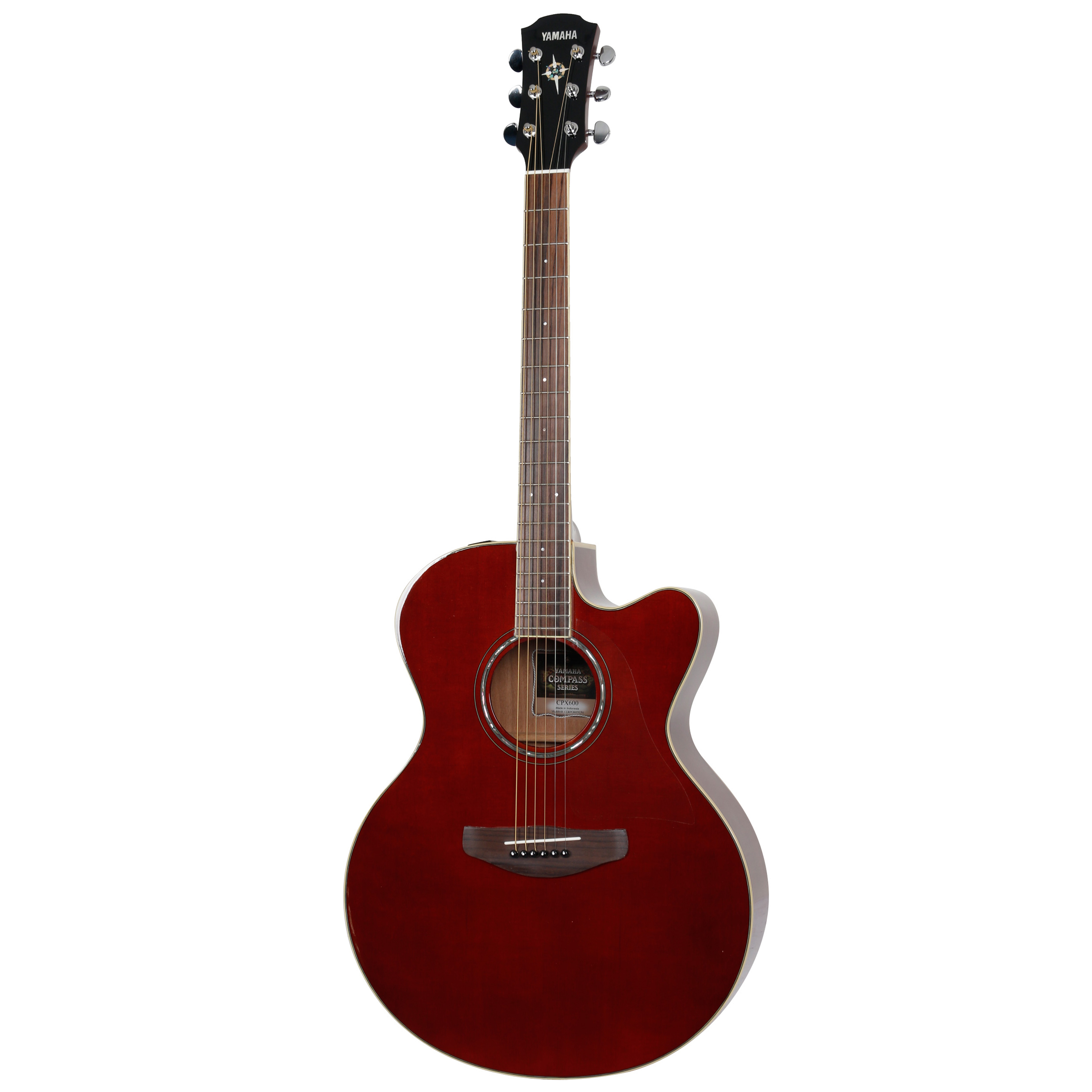 Yamaha CPX600 Root Beer electro acoustic guitar
