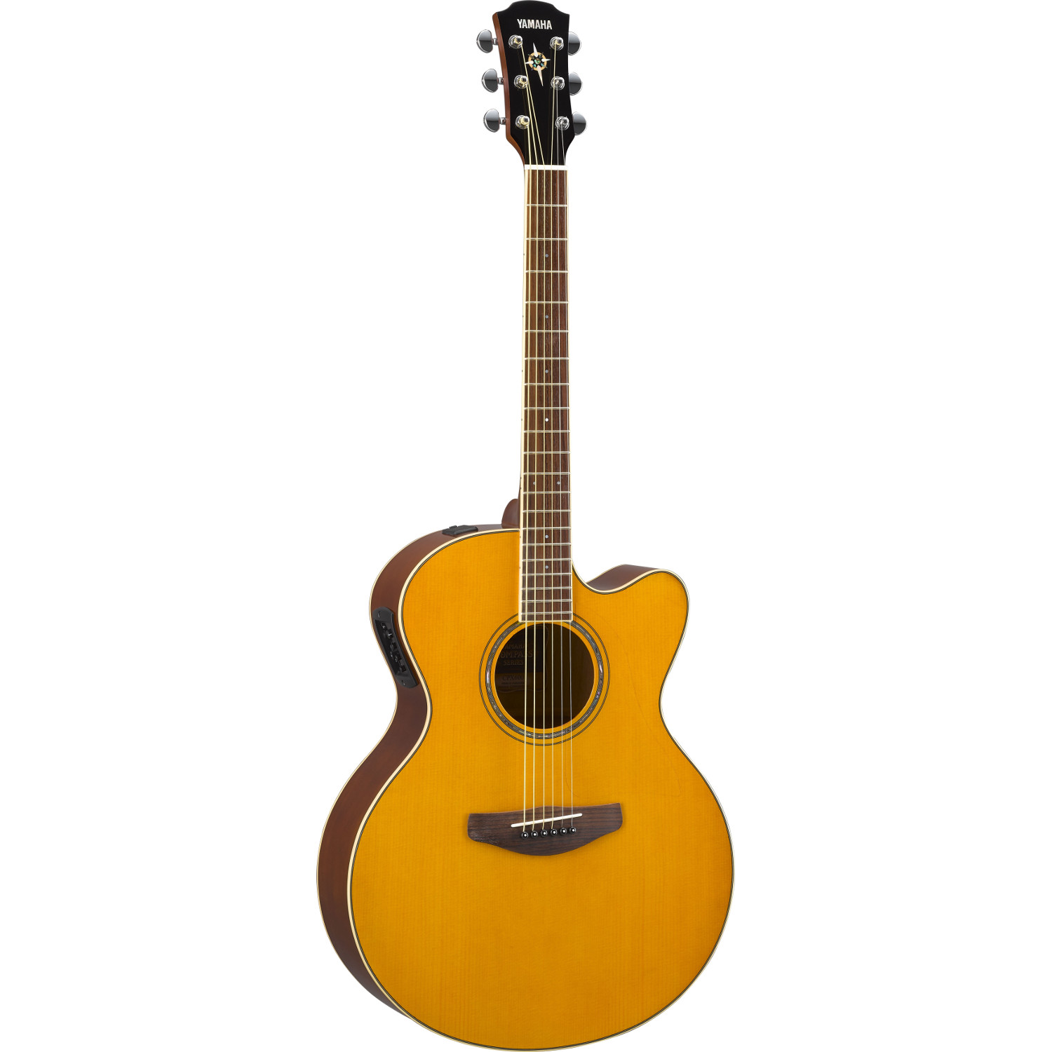 Yamaha CPX600 Vintage Tint electro acoustic guitar