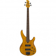 Yamaha TRBX604FM Matte Amber electric bass guitar