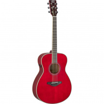 Yamaha FS-TA TransAcoustic Ruby Red electro-acoustic guitar