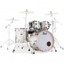 Pearl STS904XP Session Std. Select shell set, 4-piece, White Marine