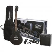 Epiphone Les Paul Player Pack Ebony starter set with amplifier