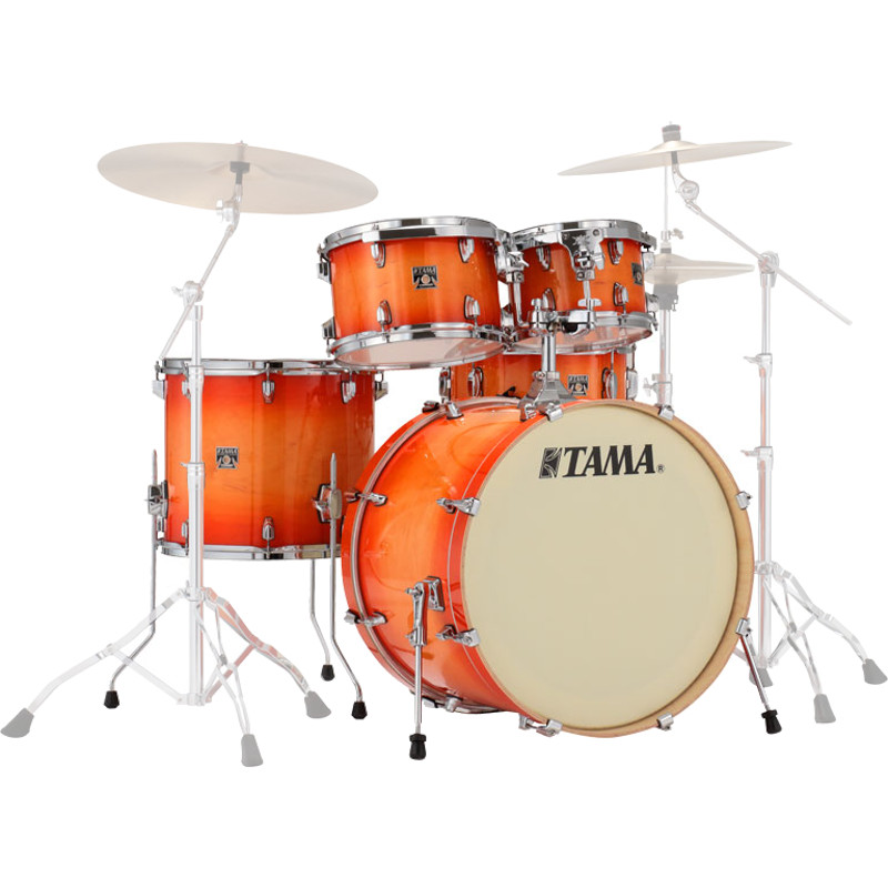 Tama CL52KRS TLB Superstar Classic 5 piece shell set, Tangerine Lac 22