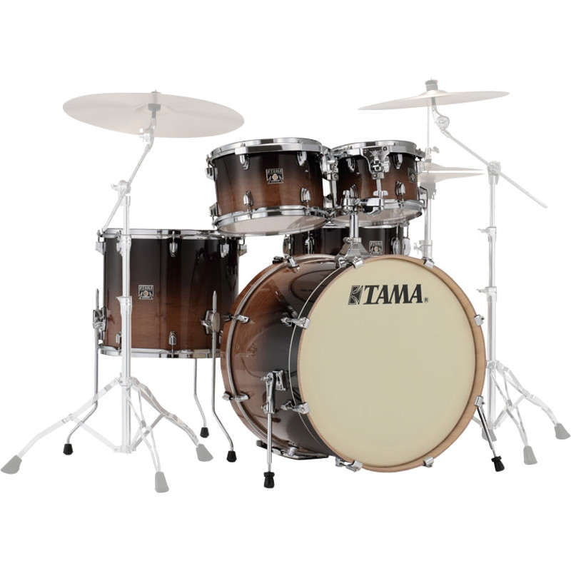 Tama CL50RS CFF Superstar Classic 5 piece shell set, Coffee Fade 20