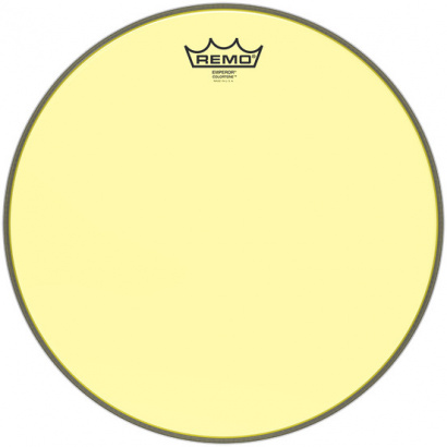 Remo BE-0312-CT-YE Emperor Colortone Yellow 12-inch