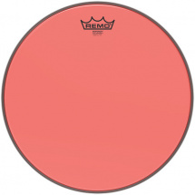 Remo BE-0318-CT-RD Emperor Colortone Red 18-inch