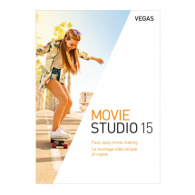 Vegas Movie Studio 15 video editing software (download)