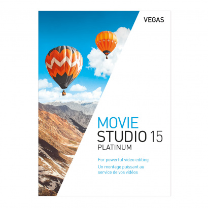 Vegas Movie Studio 15 Platinum video editing software (download)