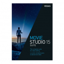 Vegas Movie Studio 15 Suite video editing software (download)