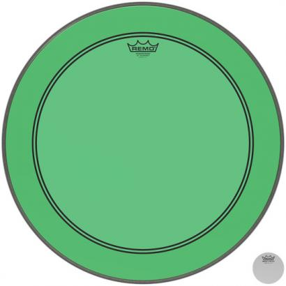 Remo P3-1318-CT-GN Powerstroke P3 Colortone Green 18-inch