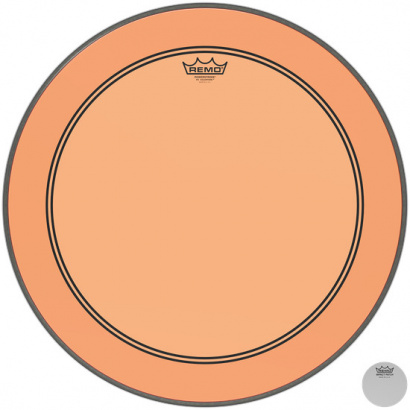 Remo P3-1318-CT-OG Powerstroke P3 Colortone Orange 18-inch