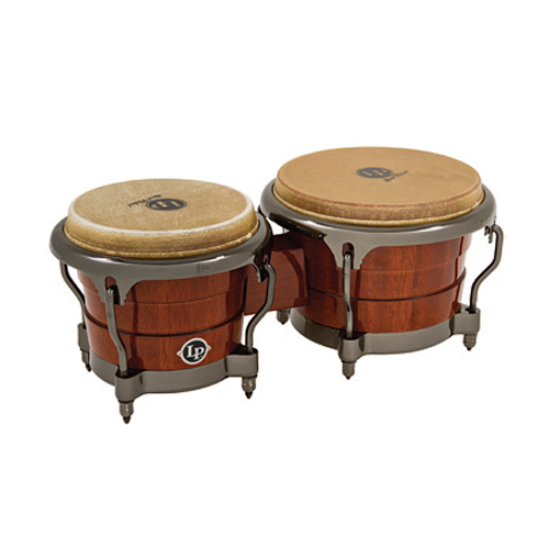 (B Ware) Latin Percussion LP201AX D Gen II Bongos Natural Durian