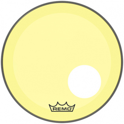 Remo P3-1318-CT-YEOH Powerstroke P3 Colortone Yellow 18-inch