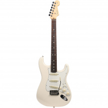 (B-Ware) Fender American Professional Stratocaster Olympic Wh.