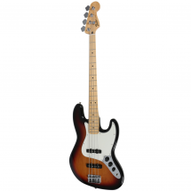 Fender Standard Jazz Bass Brown Sunburst MN E-Gitarre, Brown Sunburst MN