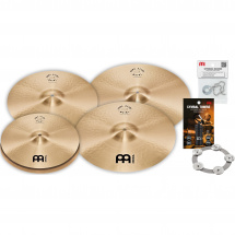 Meinl PA14161820M Pure Alloy cymbal set + accessories
