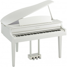 (B-Ware) Yamaha CLP-665GP WH Clavinova E-Flügel, weiß