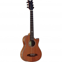 Ortega Traveler Series NL-WALKER  electro-acoustic classical guitar, natural