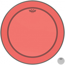 Remo P3-1322-CT-RD Powerstroke P3 Colortone Red 22-inch