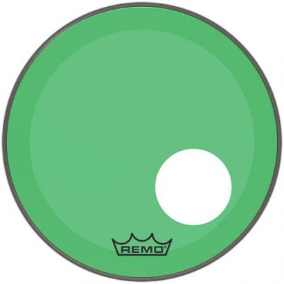 Remo P3-1322-CT-GNOH Powerstroke P3 Colortone Green 22-inch