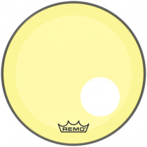 Remo P3-1322-CT-YEOH Powerstroke P3 Colortone Yellow 22-inch