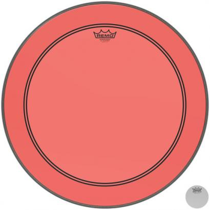 Remo P3-1324-CT-RD Powerstroke P3 Colortone Red 24-inch