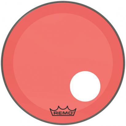 Remo P3-1324-CT-RDOH Powerstroke 3 P3 Colortone Red 24-inch