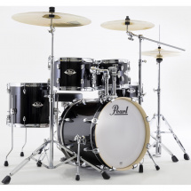 Pearl EXX785BR/C31 Export Jet Black drum kit