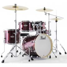 Pearl EXX785BR/C704 Export Black Cherry Glitter drum kit