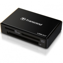Transcend Multi Card Reader USB 3.0 (schwarz)