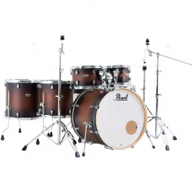 Pearl DMP926S/C260 Decade M. Satin Brown Burst 6-piece drum kit