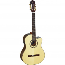 Ortega Feel Series RCE158SN slim neck, natural, with gig bag