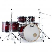 Pearl DMP926S/C261 Decade M. Gloss Deep Red 6-piece drum kit