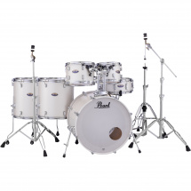 Pearl DMP926S/C229 Decade M. White Satin Pearl 6-piece drum kit