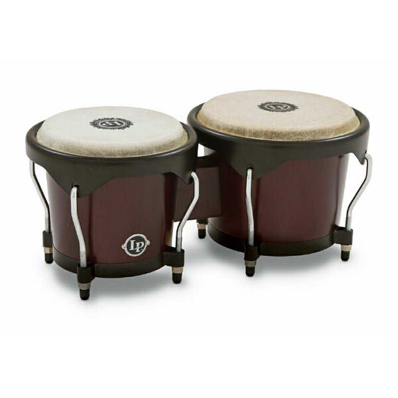 (B Ware) Latin Percussion LP601NY DW City Series Bongoset Dark Wood