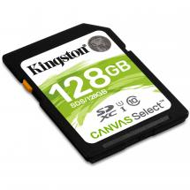 Kingston SDS/128GB SDXC Canvas Select 80R CL10 UHS-I