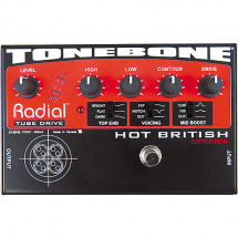 (B-Ware) Radial Tonebone Hot British Tube-Distortion-Effekt