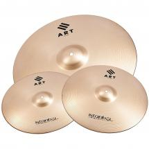 Istanbul Agop ART 3-piece cymbal set, 14, 16 & 20-inch, including bag