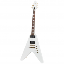 Fazley FFV618WH electric guitar, white