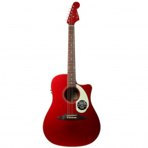 (B-Ware) Fender Sonoran SCE Candy Apple Red v2 Konzertgitarre mit Tonabnehmer