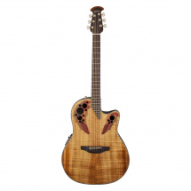 (B-Ware) Ovation CE44P-FKOA Celebrity Elite Plus Figured Koa