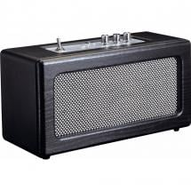 Lenco BT-300 Black Bluetooth speaker