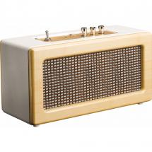 Lenco BT-300 Oak Bluetooth speaker