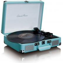 Lenco TT-11 Bluetooth turntable, blue